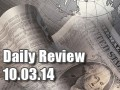 Daily Forex Market Review 10/03/14 (+20 pips)