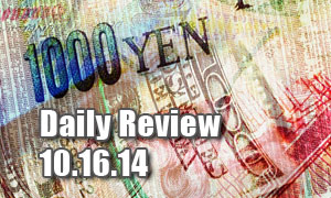 Daily Forex Market Review 10/16/14 (+35 pips)